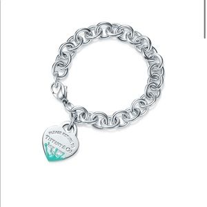 Tiffany & Co Color Splash Heart Tag Bracelet